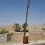 شاهکار تاسف بار اداره برق ، کاشت تیربرق در بشکه! + عکس