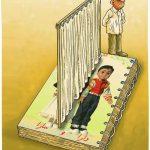 تفکیک جنسیتی لوازم التحریر! / کاریکاتور