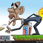 داعش؛ آتش خود افروختهای که دامن آمریکا را گرفت / کاریکاتور