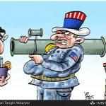 جنگ ناشیانه آمریکا در عراق / کاریکاتور