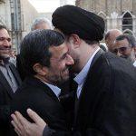 دیدار احمدی نژاد با سید حسن خمینی + عکس