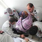 خروج زن ۱۶۰ کیلویی تهرانی پس از ۸ سال از خانه + عکس