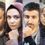گریم فرزاد حسنی و پژمان جمشیدی در «سالهای ابری» + عکس