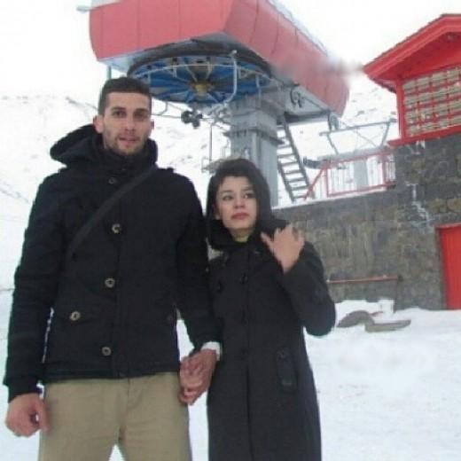 همسر والیبالیست ها همسر آرمین تشکری بیوگرافی ونوس عادلی بیوگرافی آرمین تشکری armin tashakori