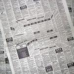 آگهی خلاقانه در صفحه نیازمندی یک روزنامه کاغذی + عکس