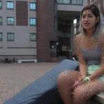دختر دانشجویی که رختخواب تجاوزش را همواره با خود حمل می نماید! + عکس