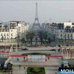 "چینی ها ""شهر پاریس"" را کپی کردند مثل هلو + عکس"