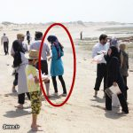 آزاده نامداری عکس های مورددار خود را پاک کرد / انتشار تصاویر بی حجاب آزاده نامداری + عکس