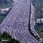 ترافیکی که در آن ۳ نفر فوت شد و ۲ کودک بدنیا آمد + عکس