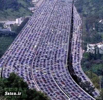 عکس های جالب و زیبا ترافیک چین اخبار جالب