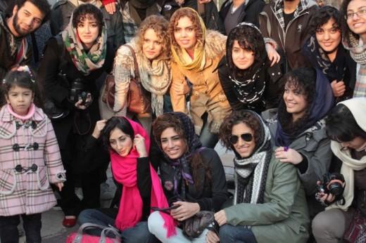 مد روز مد جدید دختر تهرانی دختر بی حجاب دختر ایرانی