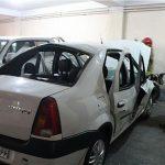 انفجار عجیب خودروی تندر ۹۰ + عکس