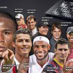 پر درآمدترین ورزشکاران جهان؛ از کریس رونالدو و مسی تا فدرر و نادال