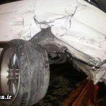 سانحه رانندگی برای «هادی عامل» گزارشگر کشتی + عکس