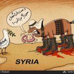 گستاخیهای وزیر خارجه سعودی علیه ایران / کاریکاتور