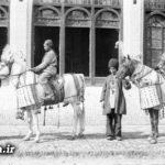 عزاداری شهادت امام حسین (ع) در دوره قاجار + عکس