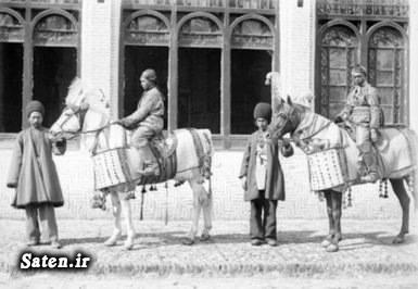 عکس قدیمی عکس ایران قدیم خانواده ناصرالدین شاه بیوگرافی ناصرالدین شاه