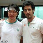 سعید معروف در کنار جومونگ + عکس