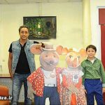 امیرحسین رستمی و پسر ۱۰ ساله اش + عکس