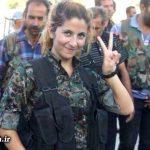 یک دختر کُردی که ۱۰۰ داعشی را کشته است + عکس