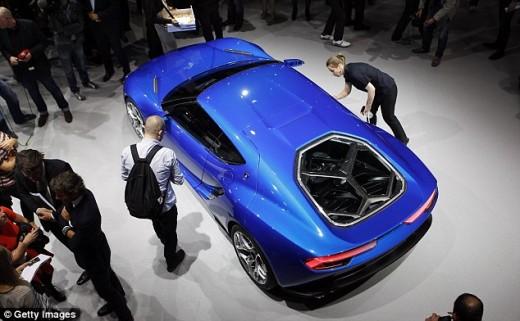 مجله ماشین مجله خودرو لامبورگینی آستریون قیمت لامبورگینی آستریون Lamborghini Asterion