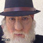 گریم عجیب فاطمه گودرزی در نقش یک پیر مرد + عکس
