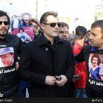 چهرهها در مراسم تشییع پیکر غلامحسین مظلومی + عکس