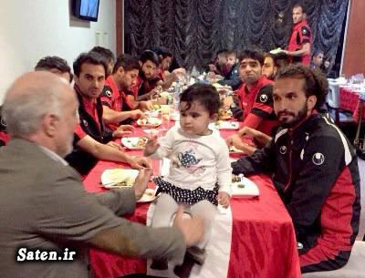 هواداران پرسپولیس همسر محمود خوردبین خانواده فوتبالیستها بیوگرافی محمود خوردبین اخبار پرسپولیس
