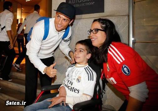 هواداران فوتبال همسر کریس رونالدو زندگینامه کریس رونالدو