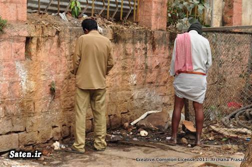 زن هندی دستشویی در خیابان دختر هندی ادرار در خیابان اخبار هند
