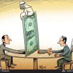 کمک یک میلیارد دلاری عربستان به سودان برای قطع روابط با ایران / کاریکتور
