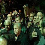 علی پروین، استیلی و عابدزاده در مراسم عزاداری امام حسین(ع) + عکس