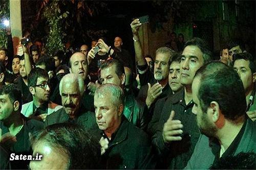 عذاداری محرم عذاداری فوتبالیست ها عذاداری بازیکنان حسنیه علی پروین