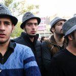 عزاداری عجیب هواداران مرحوم پاشایی با کلاه + عکس
