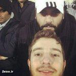 تیپ مخفی و سیاهپوش احسان علیخانی در ورزشگاه آزادی + عکس