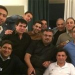 جشن تولد امیر قلعه نویی با حضور داماد و پسرش + عکس