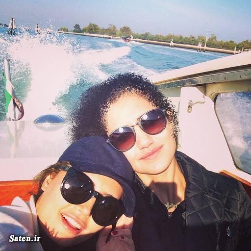 561879 عکس بی حجاب الناز شاکردوست و خواهرش در ونیز ایتالیا