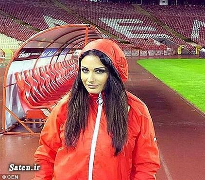 ورزش بانوان فوتبال زنان فوتبال دختران عکس ورزشی عکس مجری زن Katarina Sreckovic