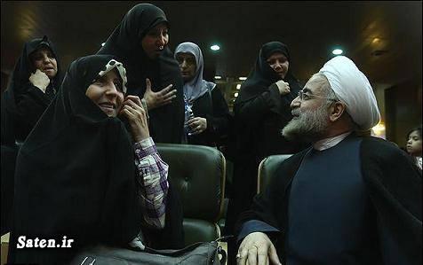 همسر فاطمه آلیا سوابق فاطمه آلیا سوابق حسن روحانی بیوگرافی فاطمه آلیا