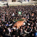اتفاق عجیب در مراسم خاکسپاری غلامحسین مظلومی