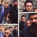 بادیگارد خفن یک خواننده در مراسم مرتضی پاشایی + عکس