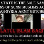 استفاده داعش از تصاویر فیلم های مستهجن برای تبلیغات ضد غربی + عکس