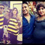 شادمهر عقیلی با همسر و دخترش در جشن هالووین + عکس و بیوگرافی
