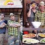 به آتش کشیدن رستوران بازیگر ایرانی در تهران! + عکس