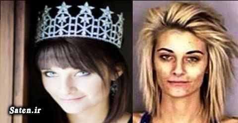 قیمت متامفتامین فروش متامفتامین عکس ملکه زیبایی زن معتاد اعتیاد شیشه