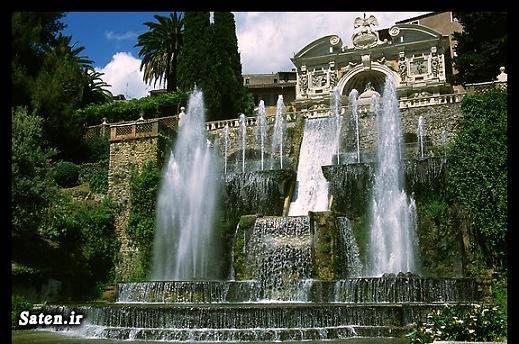 مناطق گردشگری مناطق توریستی Villa D'este