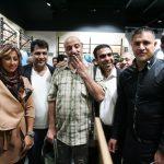 کری جالب هنرپیشه سینما برای پرسپولیس در دربی