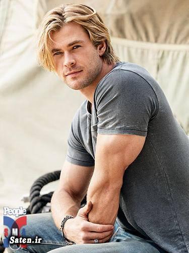 همسر کریس همسورث مرد جذاب جذابترین مرد بیوگرافی کریس همسورث Chris Hemsworth