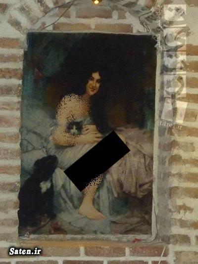عکس زن برهنه