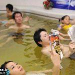 استخر های مختلط عجیب در ژاپن + عکس